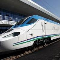 New route of Afrosiab high speed train Tashkent - Karshi